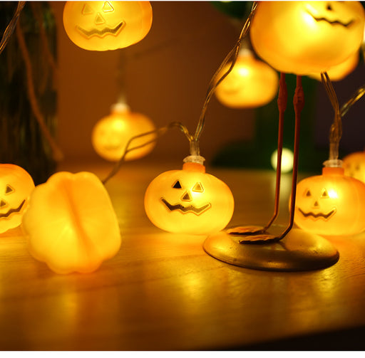 Kawaii Japanese Korean Small Pumpkin String Light/Halloween Carnival Pumpkin LED String Light