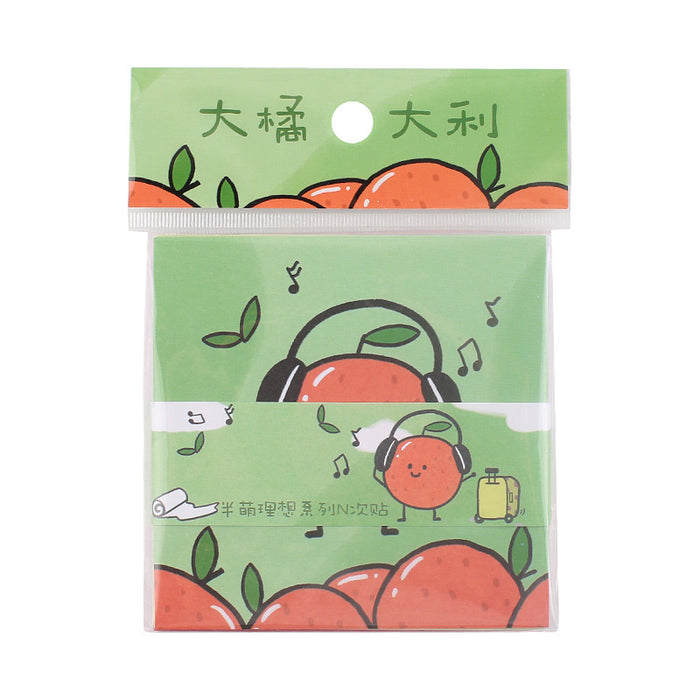 Kawaii  Japanese  Korean  Half-cute ideal cute illustration hand account DIY decorative stickers stickers