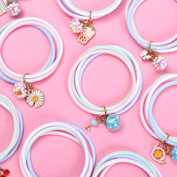 Cute Japanese girl pendant mosquito repellent bracelet outdoor portable portable mosquito repellent bracelet