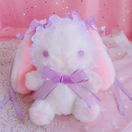 Japanese Lolita Plush Bunny Crossbody Bag Shoulder