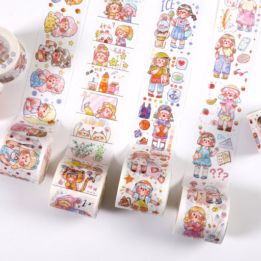 Kawaii Japanese Korean Cute Fatty Question Wo Tape