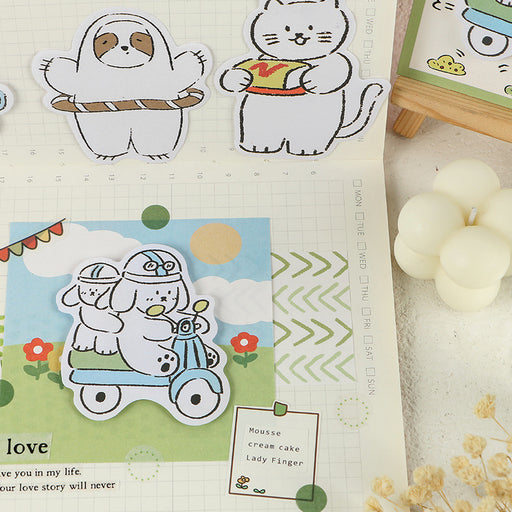 Kawaii  Japanese  Korean -Infeel.Me cute cartoons, you have a good-looking series of sticky notes