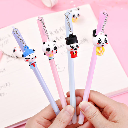 Kawaii  Japanese  Korean  Panda pendant gel pen