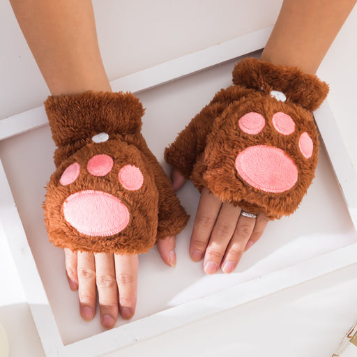 Aesthetic  Kawaii Cat Paw Gloves