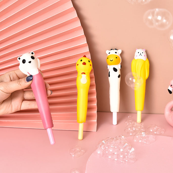 Kawaii  Japanese  Korean  Girls Heart Slow Rebound Pen Students Decompression Pinching Pen
