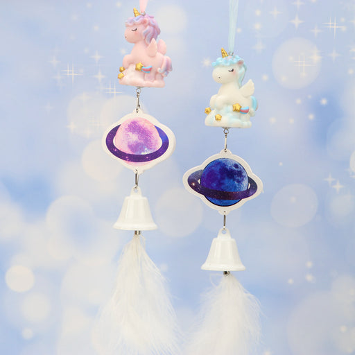 Kawaii  Japanese  Korean  Girly Heart Unicorn Glowing Wind Chime Pendant Birthday Gift