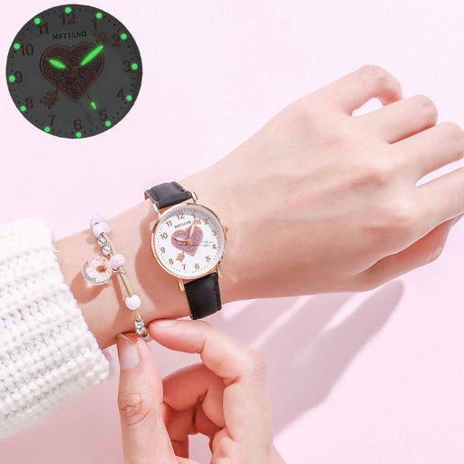 Kawaii  Japanese  Korean  Girl small fresh luminous electronic watch