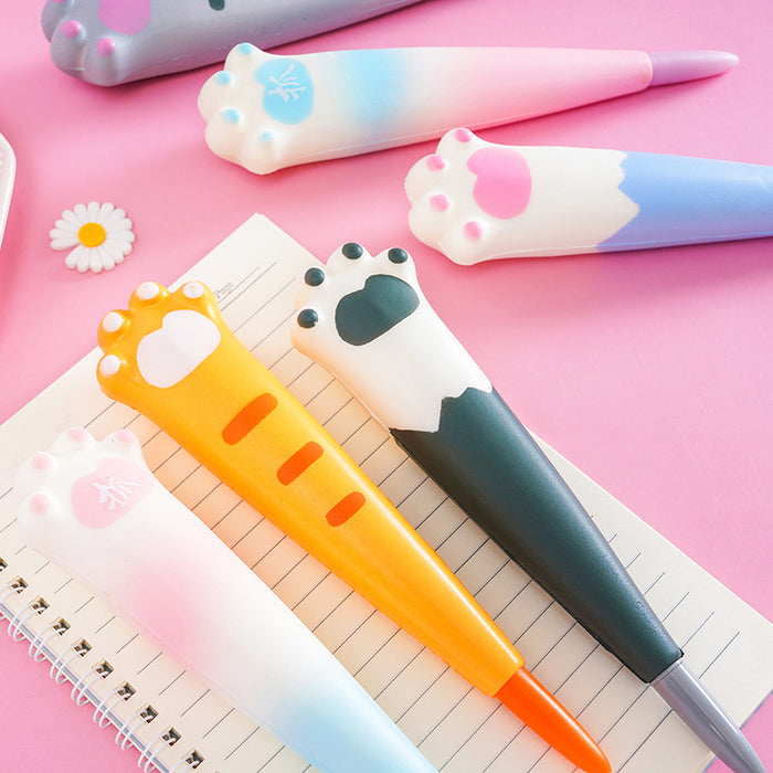 Kawaii  Japanese  Korean Cartoon cute claw decompression vent pen