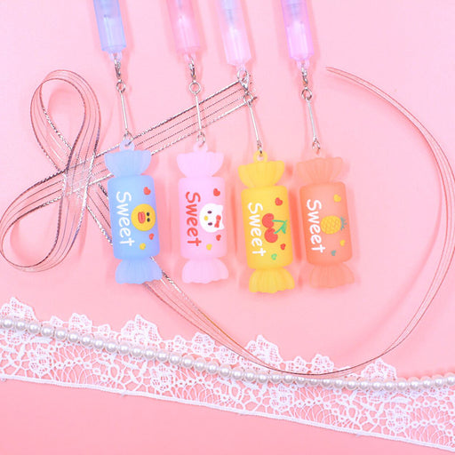 Kawaii  Japanese  Korean -Cute candy pendant gel pen
