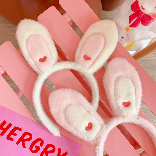 Kawaii  Japanese  Korean Bunny ears headband sweet and cute headband
