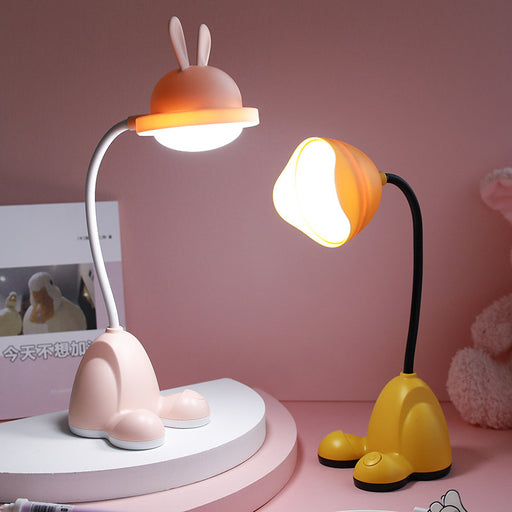 Kawaii  Japanese  Korean Cartoon head desk lamp USB charging night light