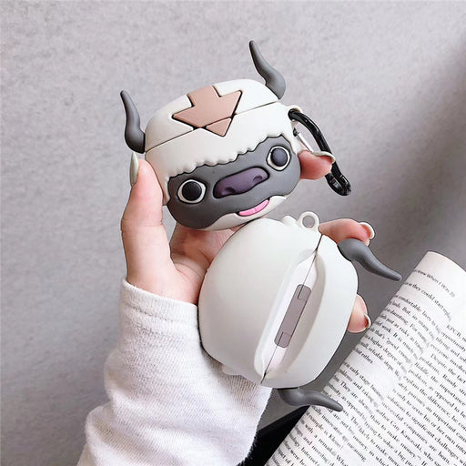 Aesthetic Stereo Cow Airpods Pro Apple Bluetooth Wireless Headset Case