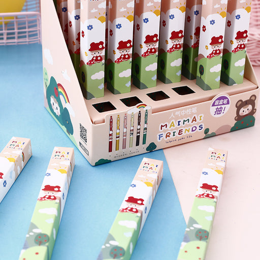 Kawaii  Japanese  Korean Blind box press gel pen