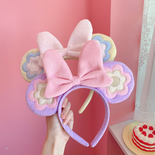 Kawaii Japanese Korean cute MN bow tie big ear headband