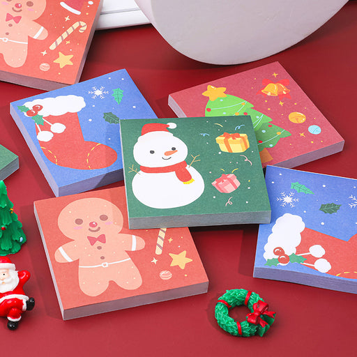 Kawaii  Japanese  Korean   Christmas cartoon post-it notes