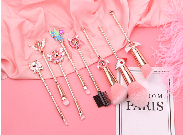 Kawaii  Japanese  Korean  -Variety Sakura Makeup Brush