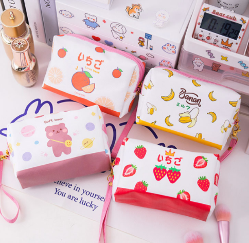 Kawaii  Japanese  Korean  Simple large capacity pencil case