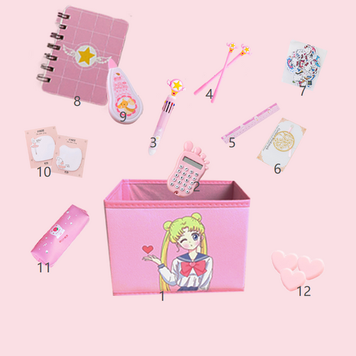 Kawaii  Japanese  Korean  Sailor Moon Set Gift Box