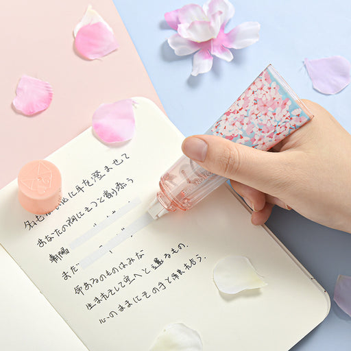 Kawaii  Japanese  Korean Sakura Seal Hand Cream Correction Tape/Toothpaste Correction Tape