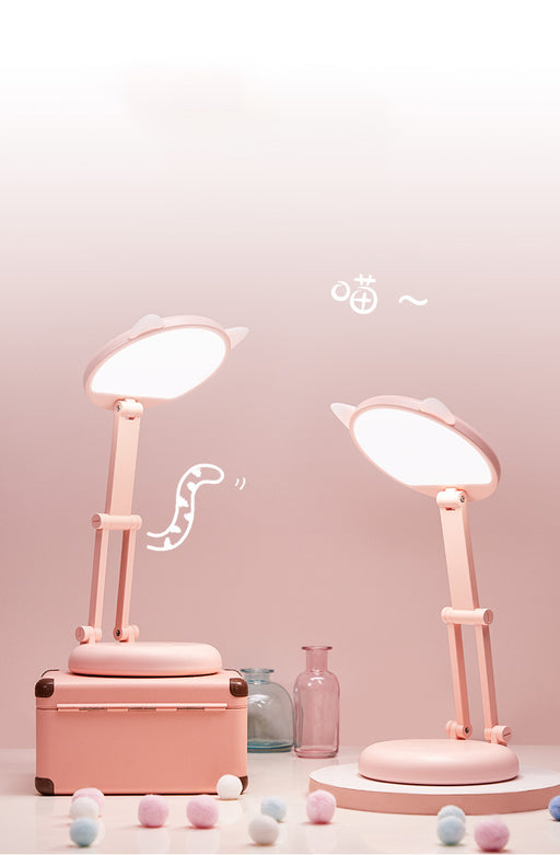 Japanese  Korean Cute Pen Holder Desk Lamp Charging Led Desk Lamp