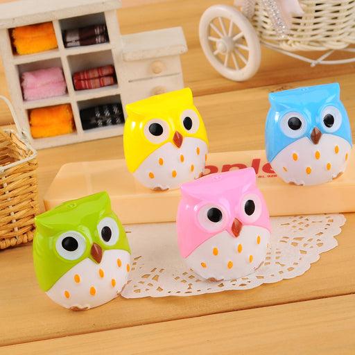 Kawaii Korean Japanese  Cartoon Owl Creative Girly Pencil Sharpener