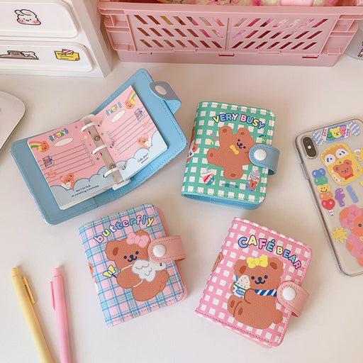 Kawaii Korean Cute girly heart sweet loose-leaf notebook notebook