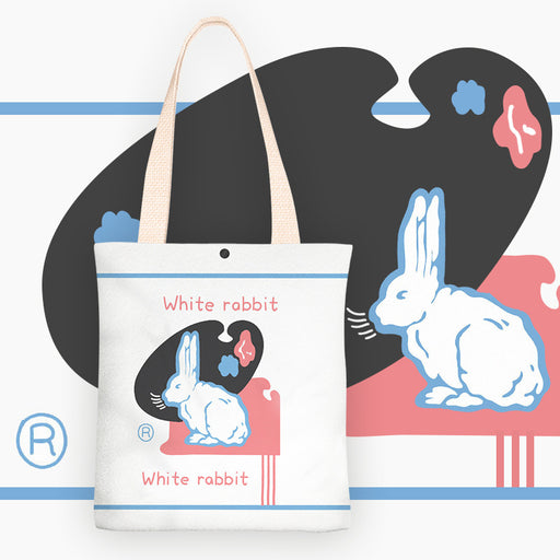 Cute Rabbit Shoulder Canvas Bag