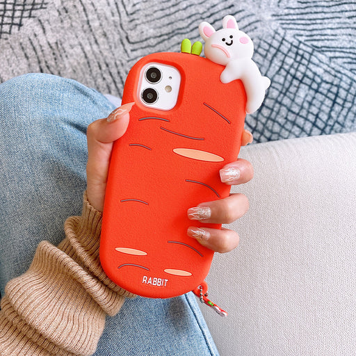 Aesthetic   Carrot Bunny Iphone Phone Case