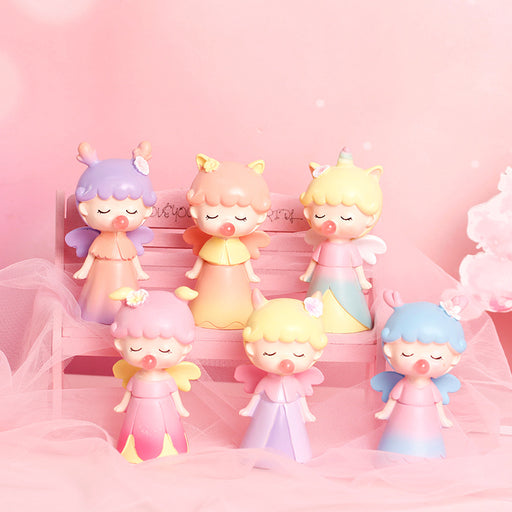 Little Fairy Blowing Bubble Blind Box Doll Figure