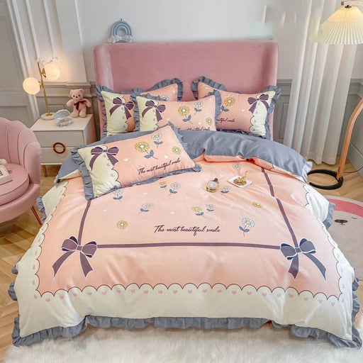 Princess Ins Korean Unicorn Four-Piece Bedding