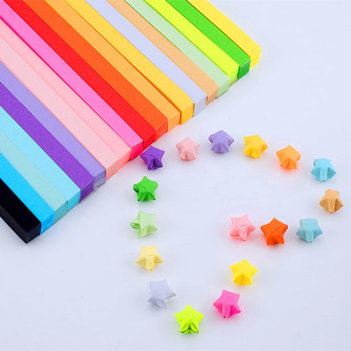 Kawaii Japanese Korean lucky star origami