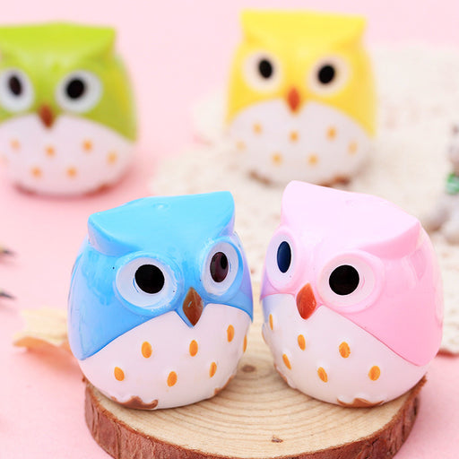 Kawaii  Japanese  Korean  Owl Pencil Sharpener Sharpener Sharpener
