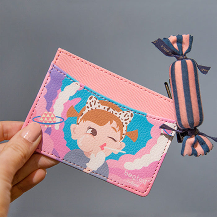 Original bangbang card clip cartoon character card pack bus card set