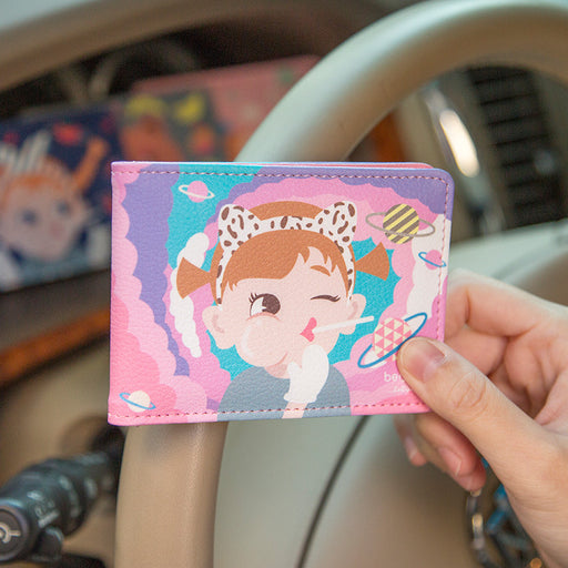 Lollipop driving license set cartoon doll certificate package driver's license clip wholesale