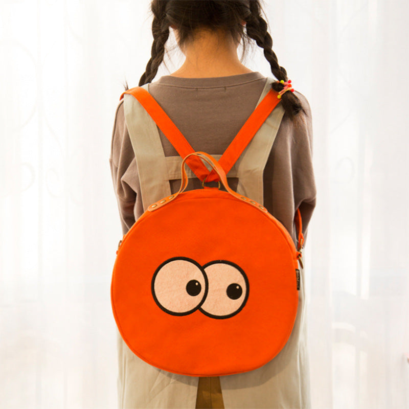 Eye rucksack cute eyes multi-purpose bag