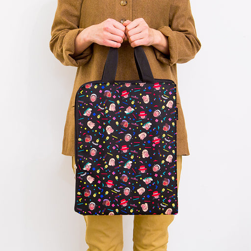 Ipad pro carrying bag ulzzang computer bag A4 file bag