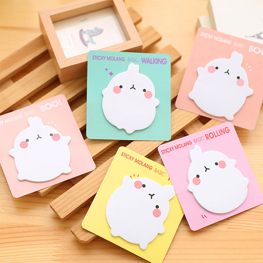 Kawaii  Japanese  Korean Cartoon bunny post-it note message note pad cute note sticker
