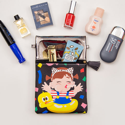 Cartoon cute girl jelly messenger bag wholesale