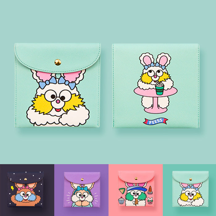 Faith rabbit tampon pack cartoon cute girl tampon pack pack tampon bag
