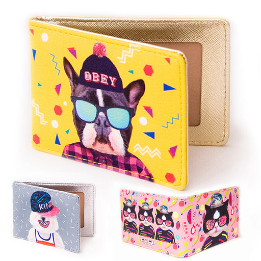 Local tyrant meeting driving license holder personality fashion driving license holder cute animal card holder