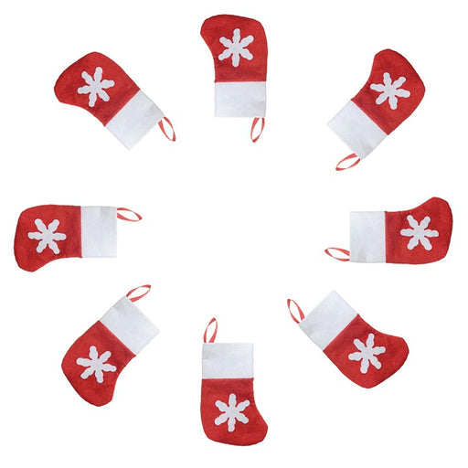 Kawaii  Japanese  Korean  Christmas snowflake socks cutlery set