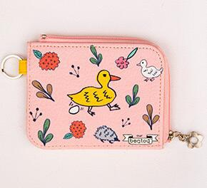 Finery finery world change wallet Korea cute little collection bag