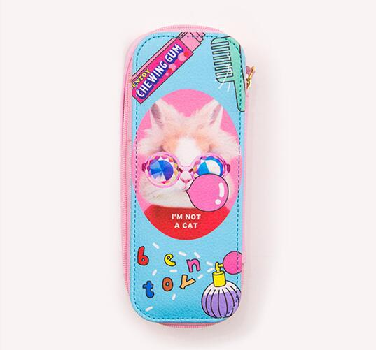 Local tyrant meeting glasses case funny animal storage box cute cartoon design glasses case