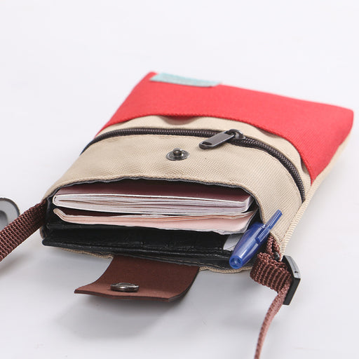 Aesthetic Travel Passport Bag