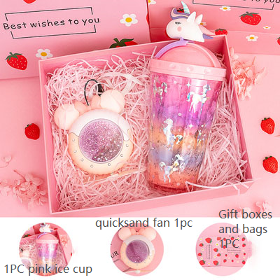 Summer girl heart creative girl birthday gift give girlfriend girlfriend gift set