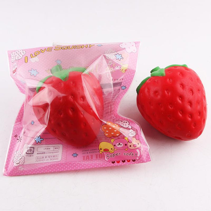 Silly Squishy - Imitation fruit big strawberry Squishy