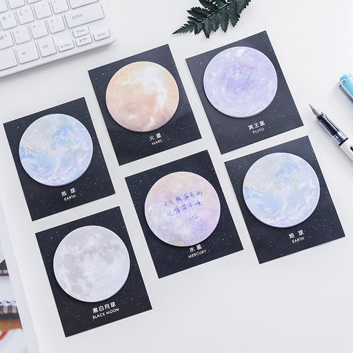 Kawaii Japanese Korean Galaxy Sticky Notes