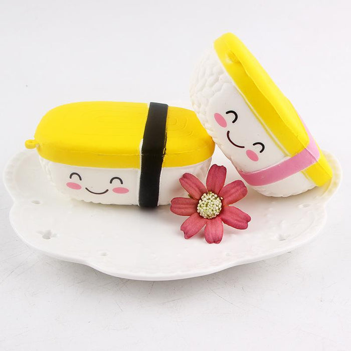 Silly Squishy - Simulation yuzi sushi model hanging parts Squishy