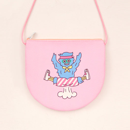 Kawaii Korean Japanese Bentoymonmon Hair Funny Monkey MessengerCute Cartoon Shoulder Bag