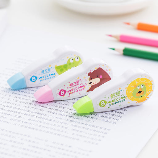 Kawaii  Japanese  Korean Cartoon animal correction tape/stationery correction tape 8m